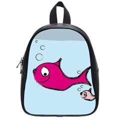 Fish Swarm Meeresbewohner Creature School Bag (small)