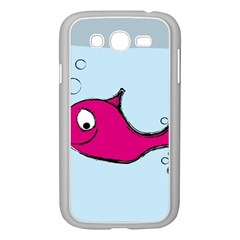 Fish Swarm Meeresbewohner Creature Samsung Galaxy Grand Duos I9082 Case (white)