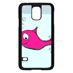 Fish Swarm Meeresbewohner Creature Samsung Galaxy S5 Case (black)