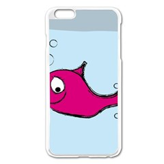 Fish Swarm Meeresbewohner Creature Apple Iphone 6 Plus/6s Plus Enamel White Case