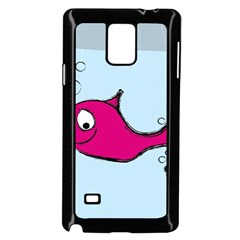 Fish Swarm Meeresbewohner Creature Samsung Galaxy Note 4 Case (black)