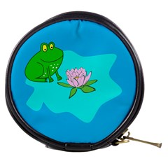 Frog Flower Lilypad Lily Pad Water Mini Makeup Bags