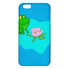 Frog Flower Lilypad Lily Pad Water Iphone 6 Plus/6s Plus Tpu Case by BangZart