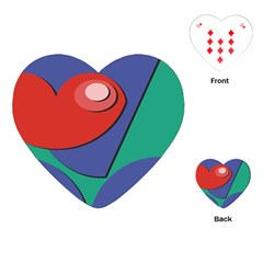 Clipart Portrait Illustration Playing Cards (heart)