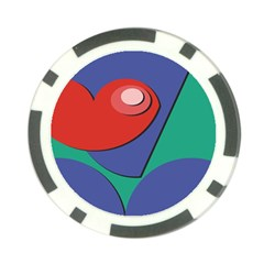 Clipart Portrait Illustration Poker Chip Card Guard