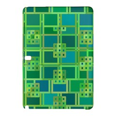Green Abstract Geometric Samsung Galaxy Tab Pro 10 1 Hardshell Case