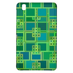 Green Abstract Geometric Samsung Galaxy Tab Pro 8 4 Hardshell Case