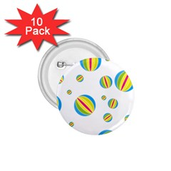 Balloon Ball District Colorful 1 75  Buttons (10 Pack)