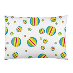 Balloon Ball District Colorful Pillow Case