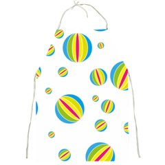 Balloon Ball District Colorful Full Print Aprons