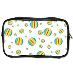 Balloon Ball District Colorful Toiletries Bags 2 Side by BangZart