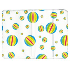 Balloon Ball District Colorful Samsung Galaxy Tab 7  P1000 Flip Case