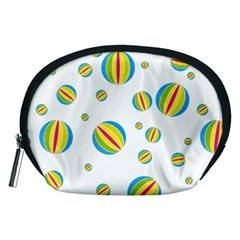Balloon Ball District Colorful Accessory Pouches (medium)