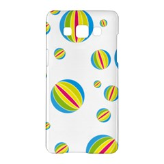 Balloon Ball District Colorful Samsung Galaxy A5 Hardshell Case