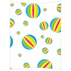 Balloon Ball District Colorful Back Support Cushion by BangZart
