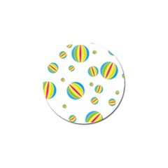 Balloon Ball District Colorful Golf Ball Marker (4 Pack) by BangZart