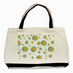 Balloon Ball District Colorful Basic Tote Bag (two Sides)