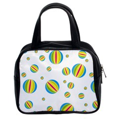 Balloon Ball District Colorful Classic Handbags (2 Sides)