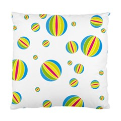 Balloon Ball District Colorful Standard Cushion Case (two Sides)