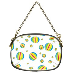 Balloon Ball District Colorful Chain Purses (two Sides)