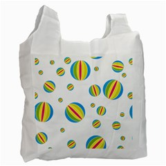 Balloon Ball District Colorful Recycle Bag (one Side)