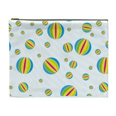 Balloon Ball District Colorful Cosmetic Bag (xl)
