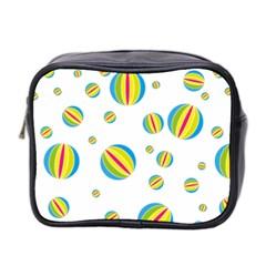 Balloon Ball District Colorful Mini Toiletries Bag 2 Side