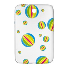 Balloon Ball District Colorful Samsung Galaxy Note 8 0 N5100 Hardshell Case