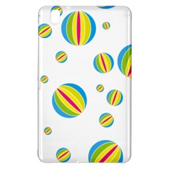 Balloon Ball District Colorful Samsung Galaxy Tab Pro 8 4 Hardshell Case