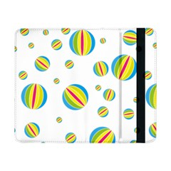 Balloon Ball District Colorful Samsung Galaxy Tab Pro 8 4  Flip Case