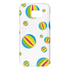 Balloon Ball District Colorful Samsung Galaxy S7 Edge Hardshell Case