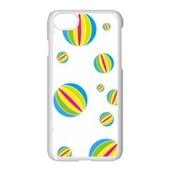 Balloon Ball District Colorful Apple Iphone 8 Seamless Case (white) by BangZart