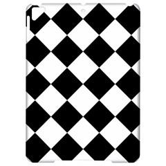 Grid Domino Bank And Black Apple Ipad Pro 9 7   Hardshell Case