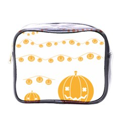 Pumpkin Halloween Deco Garland Mini Toiletries Bags