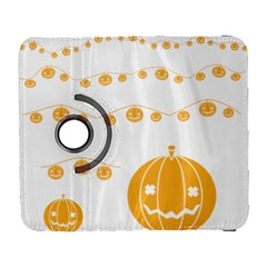 Pumpkin Halloween Deco Garland Galaxy S3 (flip/folio)