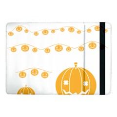 Pumpkin Halloween Deco Garland Samsung Galaxy Tab Pro 10 1  Flip Case by BangZart