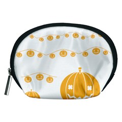 Pumpkin Halloween Deco Garland Accessory Pouches (medium)