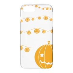 Pumpkin Halloween Deco Garland Apple Iphone 8 Plus Hardshell Case