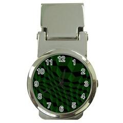 Pattern Dark Texture Background Money Clip Watches