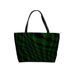 Pattern Dark Texture Background Shoulder Handbags