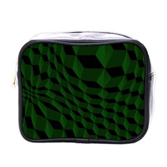 Pattern Dark Texture Background Mini Toiletries Bags