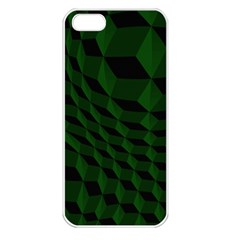 Pattern Dark Texture Background Apple Iphone 5 Seamless Case (white) by BangZart