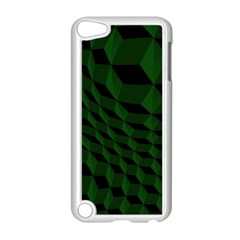 Pattern Dark Texture Background Apple Ipod Touch 5 Case (white)