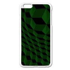 Pattern Dark Texture Background Apple Iphone 6 Plus/6s Plus Enamel White Case