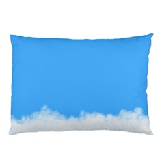 Sky Blue Blue Sky Clouds Day Pillow Case