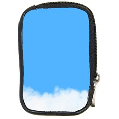 Sky Blue Blue Sky Clouds Day Compact Camera Cases by BangZart
