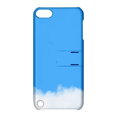 Sky Blue Blue Sky Clouds Day Apple Ipod Touch 5 Hardshell Case With Stand by BangZart
