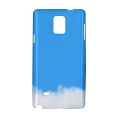 Sky Blue Blue Sky Clouds Day Samsung Galaxy Note 4 Hardshell Case