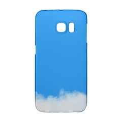 Sky Blue Blue Sky Clouds Day Galaxy S6 Edge by BangZart