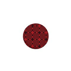 Abstract Background Red Black 1  Mini Buttons